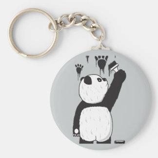 Pandalism Basic Round Button Key Ring