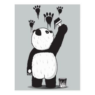 Pandalism Postcard
