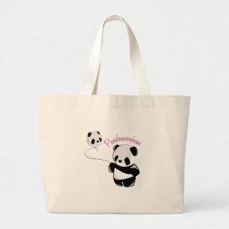 Pandamonium Tote Bags