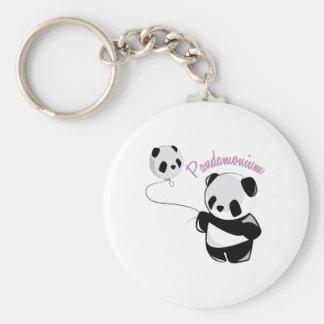 Pandamonium Key Chain