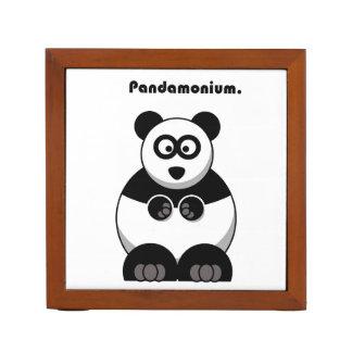 Pandamonium Panda Cartoon Desk Organiser