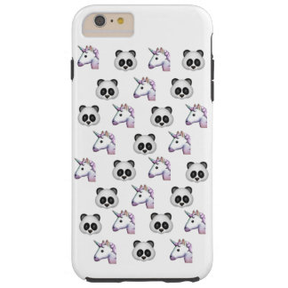 PANDAS AND UNICORNS EMOJI iPHONE 6/6s PLUS CASE