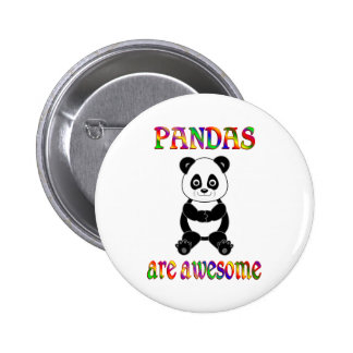 Pandas are Awesome Button