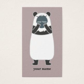 Panda's business card