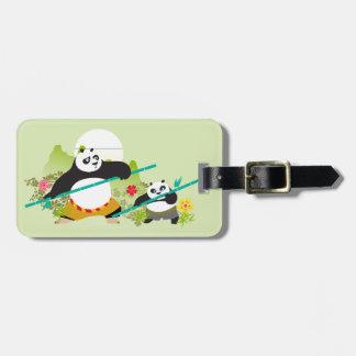 Pandas - Enemies of Justice Luggage Tag