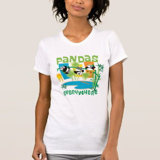 Pandas Everywhere T-Shirt