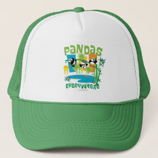 Pandas Everywhere Trucker Hat