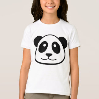 Panda's Face T-Shirt