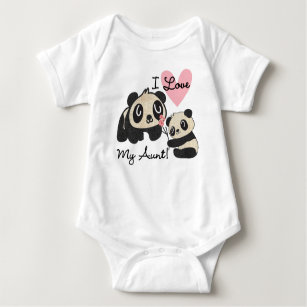 aceb99a434cb I Love My Aunties Baby Clothes & Shoes | Zazzle.co.uk