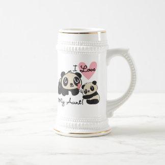 Pandas I Love My Aunt Mug
