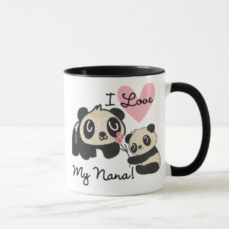 Pandas I Love My Nana