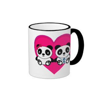 Pandas in Love Mug