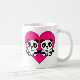 Pandas in Love Mugs