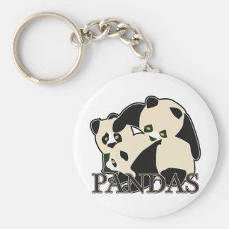 Pandas Key Chain