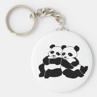 Pandas Key Ring