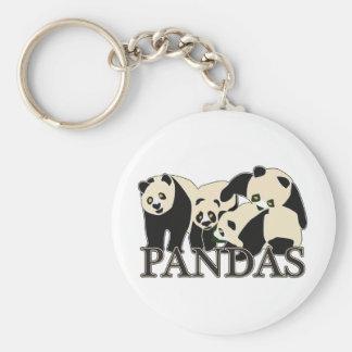Pandas Key Chains