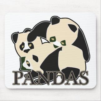 Pandas Mousepads