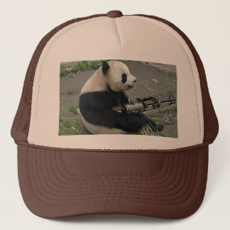 panda's need guns trucker hat
