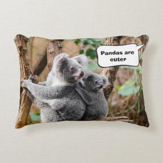 Pandas or Koalas - Which are cuter? Decorative Cushion