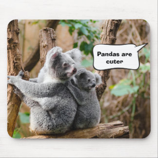 Pandas or Koalas - Which are cuter? Mouse Mat
