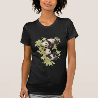 Pandas Playing in a Tree T-shirts