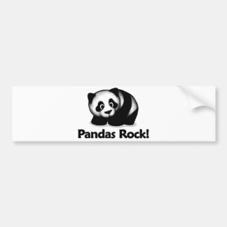 Pandas Rock! Bumper Sticker