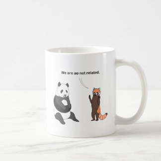 Pandas: So Not Related Mug