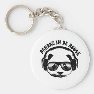 Pandaz In Da House Key Ring