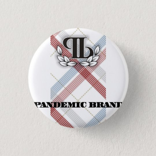Pandemic Plaid Button