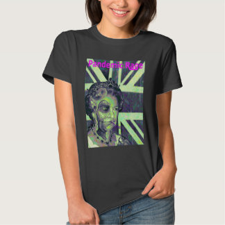 Pandemic Rage - Reptilian Queen grafitti t shirt