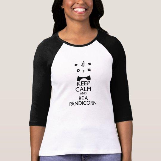 Pandicorn 3/4 Sleeve T-Shirt