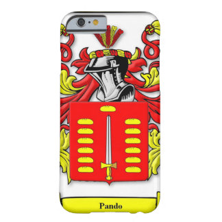 Pando Coat of Arms Barely There iPhone 6 Case