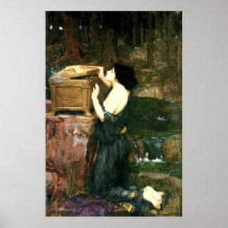 Pandora (1896)~ Fine Art Canvas Poster