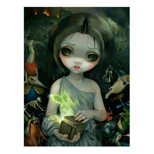 """""""Pandora"""" Postcard"""