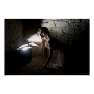 Pandora poster by Cyril Helnwein