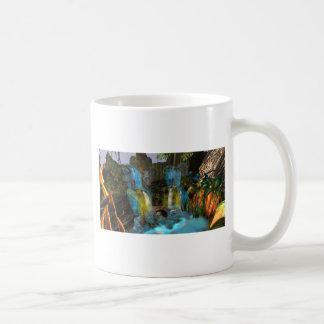 PANDORA UNIVERSE  NA'VI   COLORFUL WATERFALL BASIC WHITE MUG