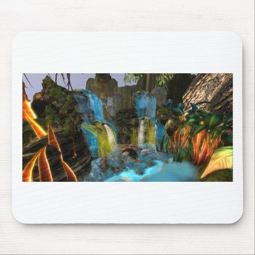 PANDORA UNIVERSE  NA'VI   COLORFUL WATERFALL MOUSEPAD