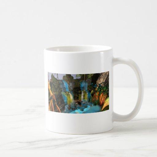 PANDORA UNIVERSE  NA'VI   COLORFUL WATERFALL MUGS