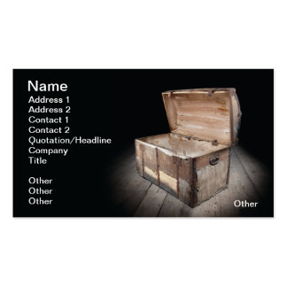 Pandora's Box Double-Sided Standard Business Cards (Pack Of 100)