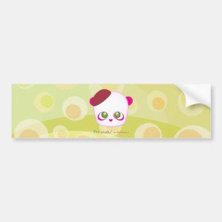 Pandudu Pandas Bumper Sticker
