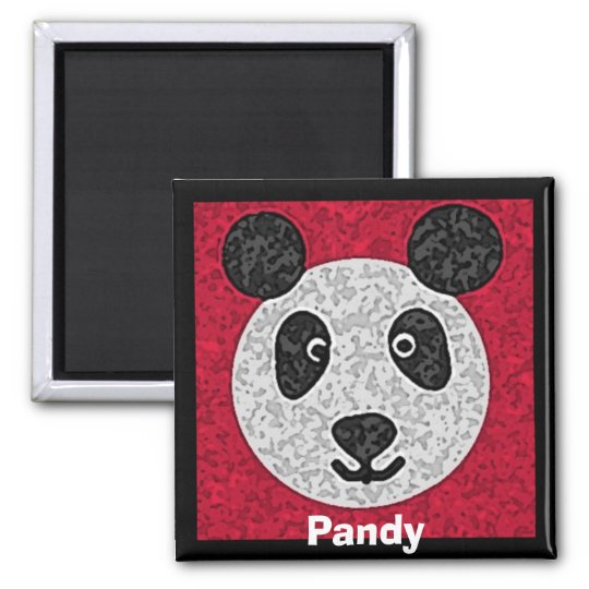 Pandy Square Magnet