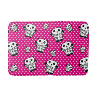 Pandy the Panda Polka Dot Bath Mat