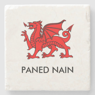 Paned Nain - Grandma's Cuppa North Welsh Coaster
