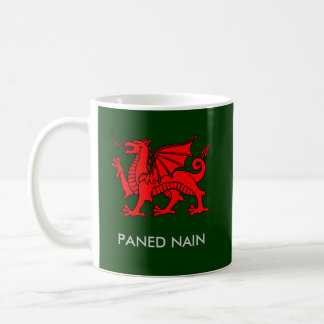 Paned Nain - Nan's Cuppa in Welsh Coffee Mug