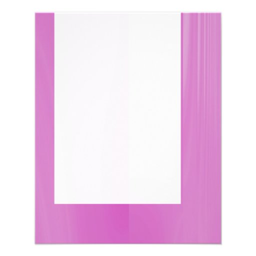Panel 029 - Abstract Pink Custom Flyer