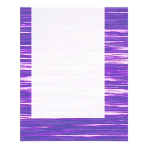 Panel 03 - Purple Interference Flyer Design