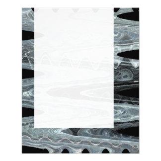 Panel 076 - Ice Wave 11.5 Cm X 14 Cm Flyer