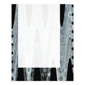 Panel 077 - Ice Wave 02 11.5 Cm X 14 Cm Flyer