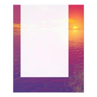 Panel 084 - Sunset Sunrise 11.5 Cm X 14 Cm Flyer