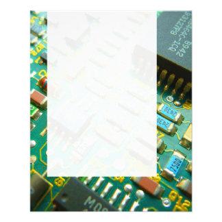 Panel 093 - Circuitry 11.5 Cm X 14 Cm Flyer